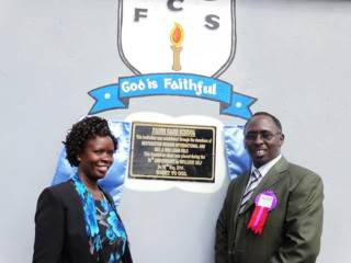 Bis. Steve Njihia and his wife Ann